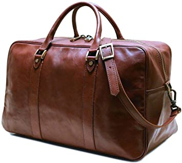 Floto Siena Trunk Duffel Bag in Brown cadffb6451d