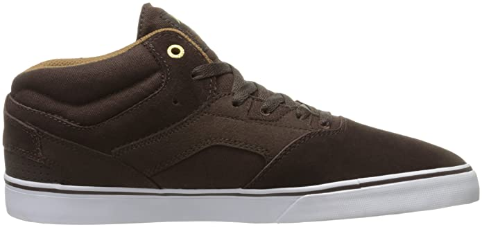 Herren Westgate Mid VULC Dark Brown Skateboardschuhe, Braun (Dark Brown 919 919), 46 EU Emerica