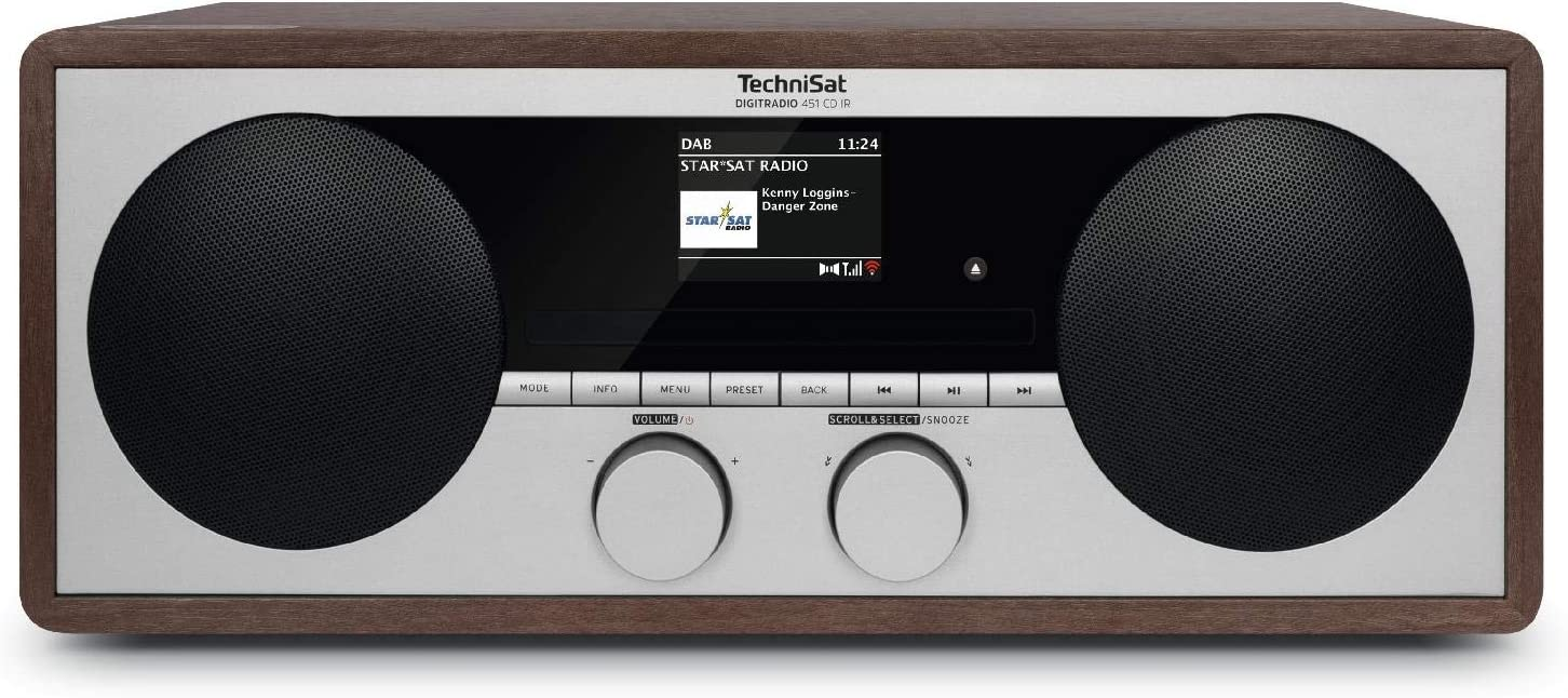 Technisat Digitradio 451 Cd Ir Internet Table Radio Elektronik