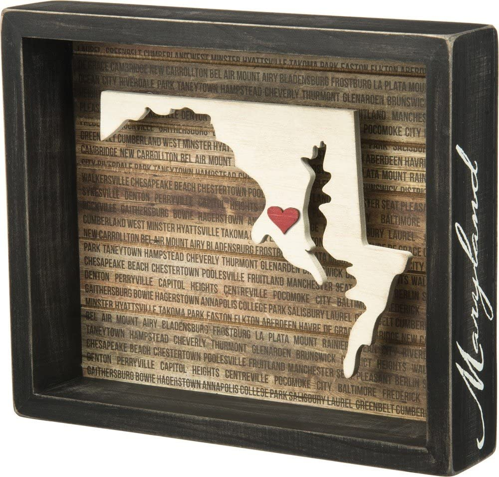 """Important Work within the Walls of Home 8.5/"""" x 7/"""" Primitives by Kathy Box Sign"""
