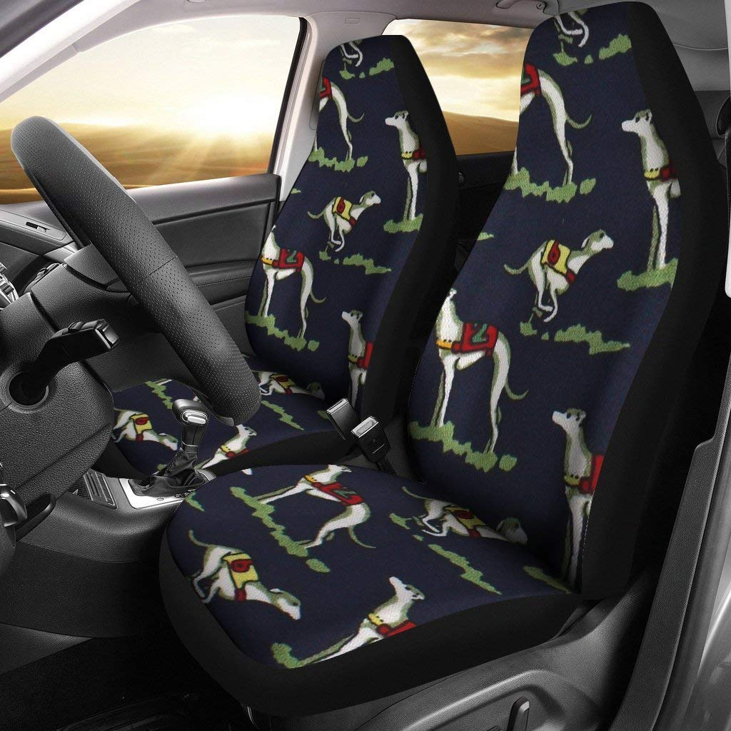 Simply Cool Trends Whippet Dog Patterns Print Car Sheet Covers by Simply Cool Trends