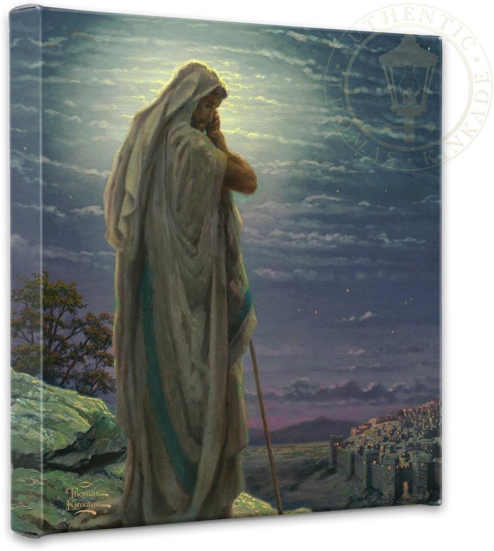 Thomas Kinkade Prayer for Peace 14 x 14 Gallery Wrapped Canvas