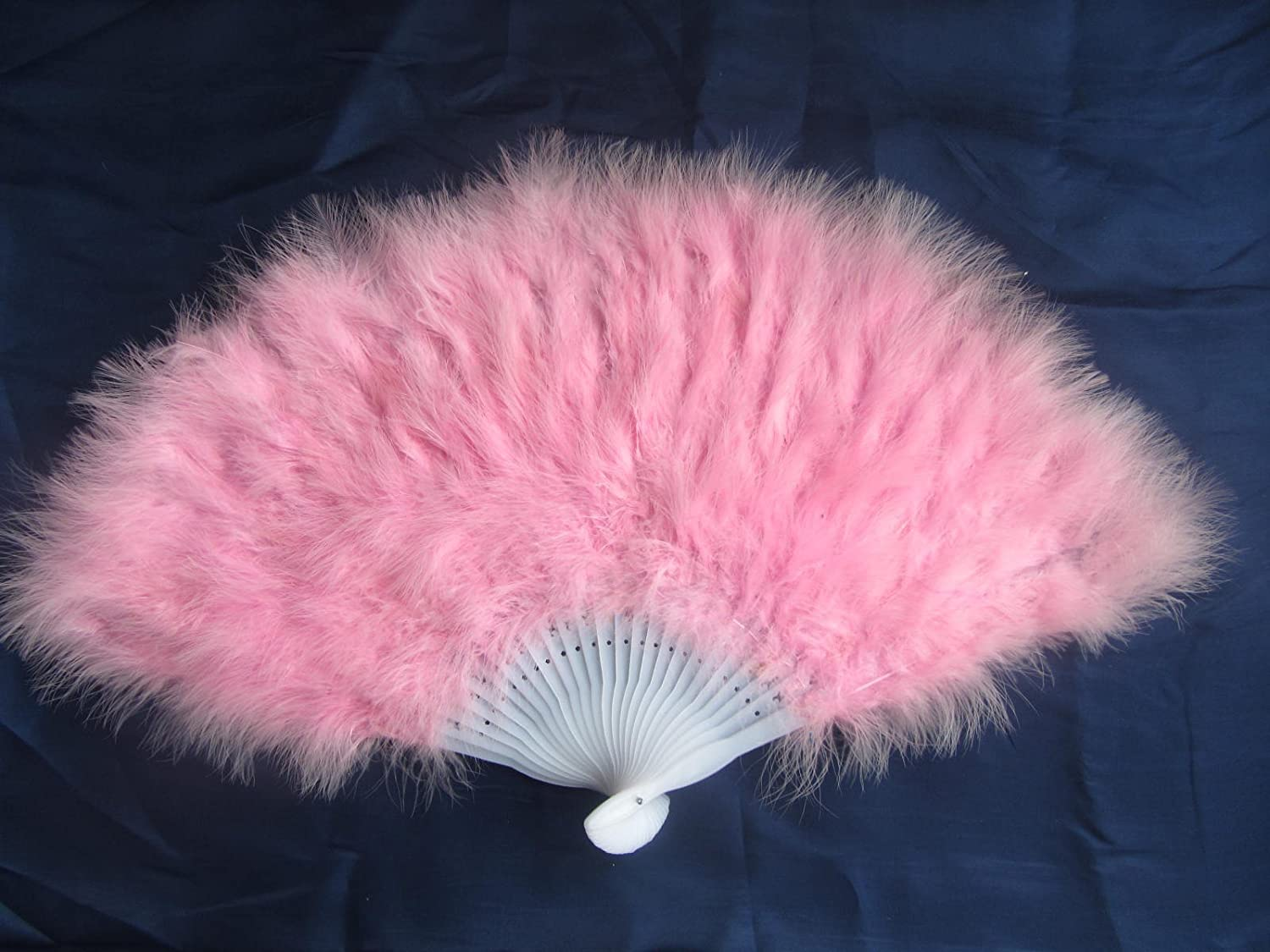 80*45cm Large Burlesque Dance feather fan Bridal Bouquet Pink