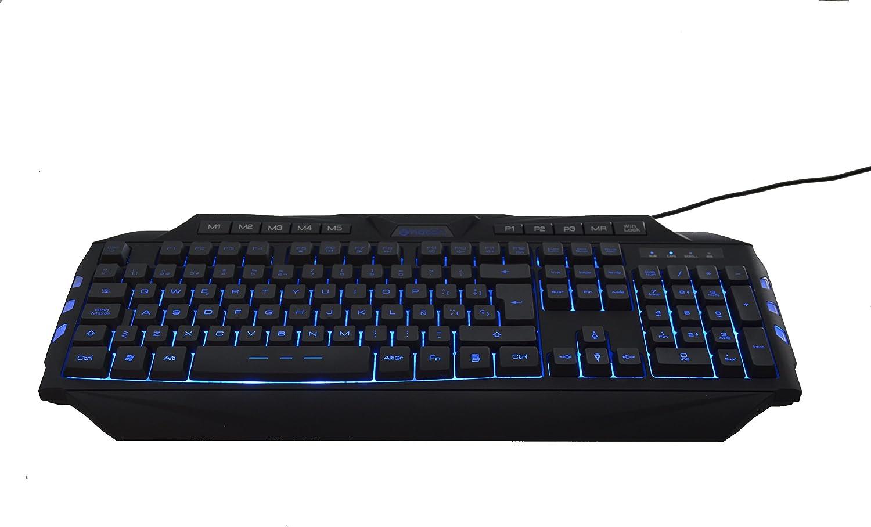 Spanish Keyboard Gaming CL-200