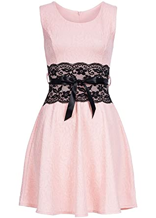 Styleboom fashion damen mini kleid zipper