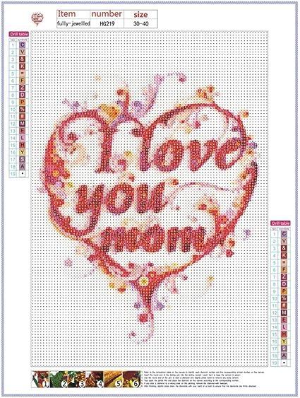 5D DIY Full Drill Diamond Painting Cross Stitch Embroidery Mosaic Craft Kit JF#E