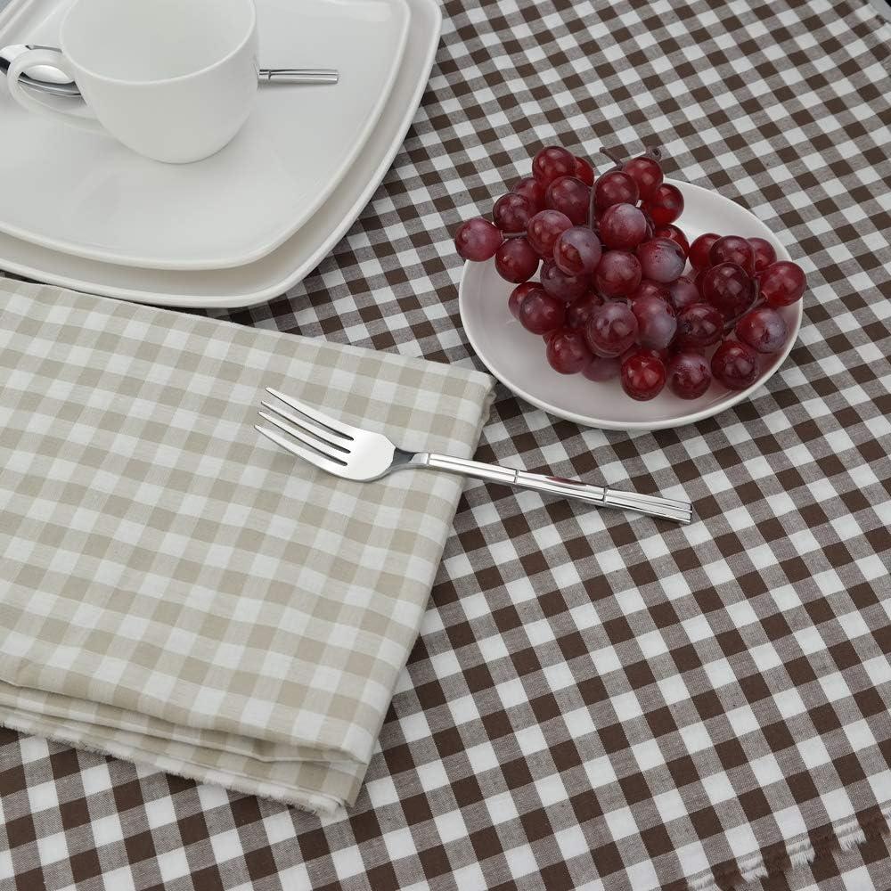 Kuchengabel Set Minekkyes 12-Teiliges Edelstahl Dessertgabel