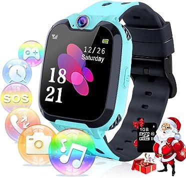 Relojes para Niños - Música Smartwatch para Niños Niña Game Watch ...