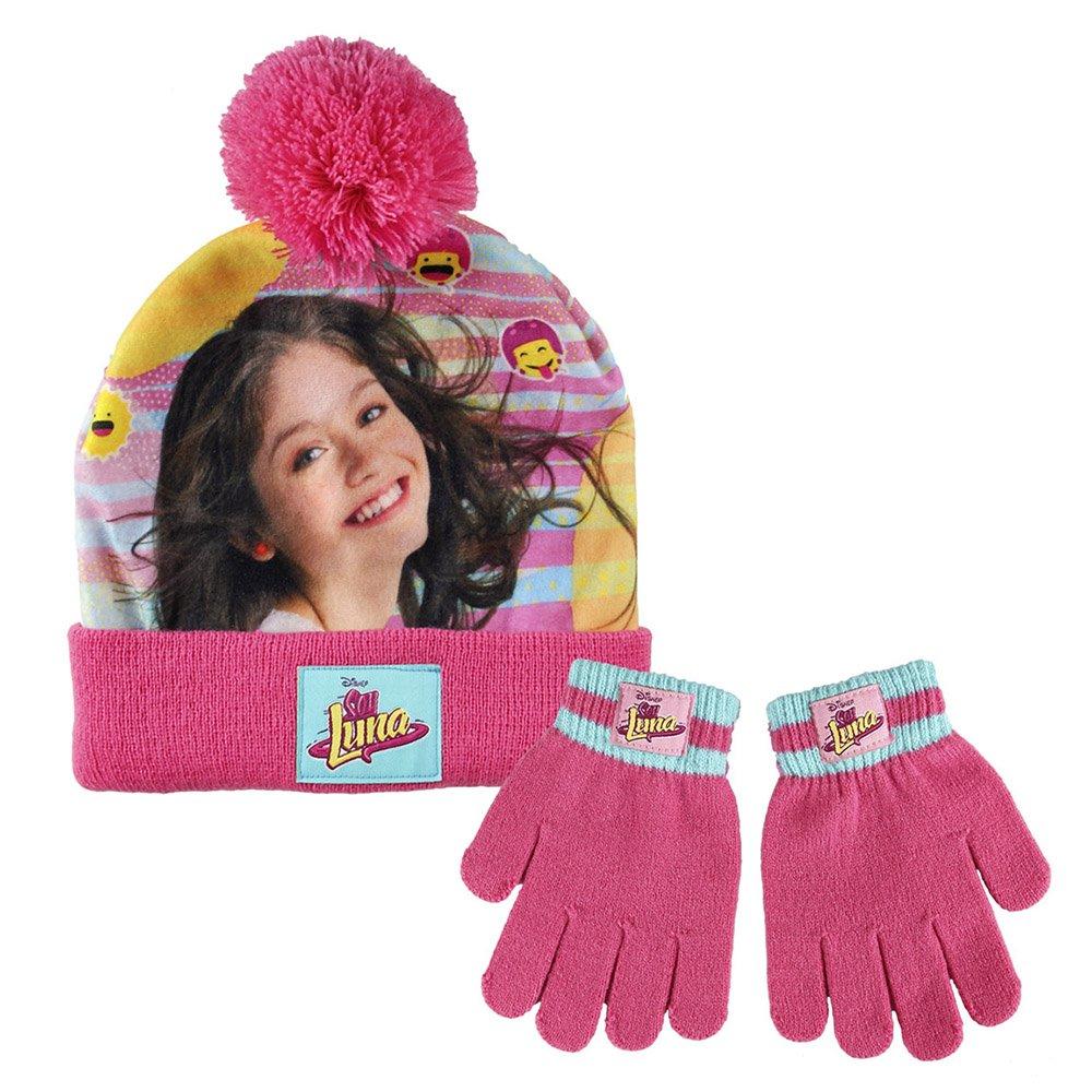Soy Luna - Set invierno gorro y guantes (Artesanía Cerdá 2200001834)