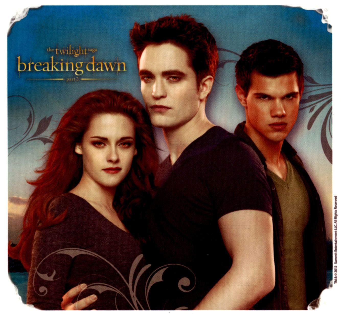 Twilight Edible Birthday Party Cake Topper 1//4 or 1//2 sheet Frosting Icing
