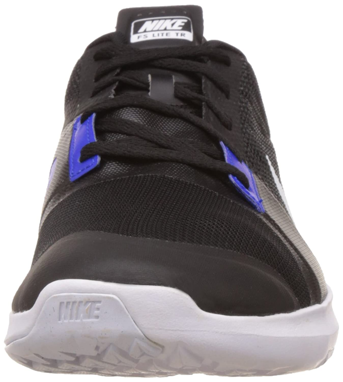 Nike FS lite Trainer 3, Zapatillas de Deporte para Hombre, Negro/Blanco/Rojo/Gris (Black/White-Chllng Red-Anthrct), 46 EU