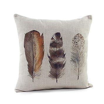 Amazon.com: Dantiya Manta de lino y algodón funda de ...