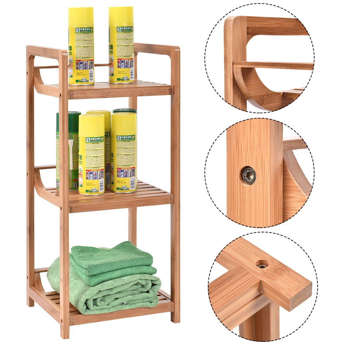 full unit size ragrund bamboo tier grund corner of shelf r designs home bathroom