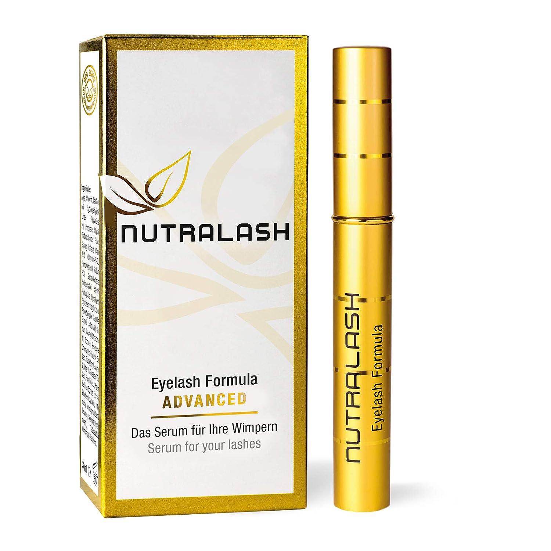 NUTRALASH Eyelash ADVANCED siero per ciglia, maggiore efficacia, 3 ml Nutracosmetic GmbH