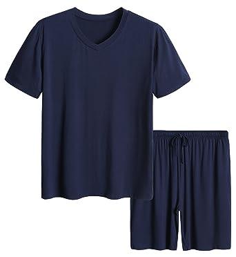 8f25ccb282 Latuza Men s Short Sleeves and Shorts Pajama Set at Amazon Men s ...