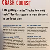 Amazon com: AP® European History Crash Course, 2nd Ed , Book +