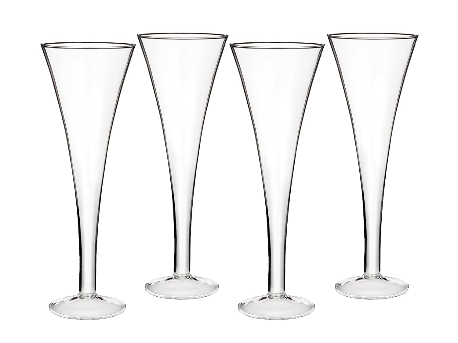Marquis by Waterford Entertaining Collection Vintage Classic Trumpet Flute, 6.7-Ounce, Set of 4 by Marquis By Waterford B004Q7NHUI  クラシック トランペット フルート