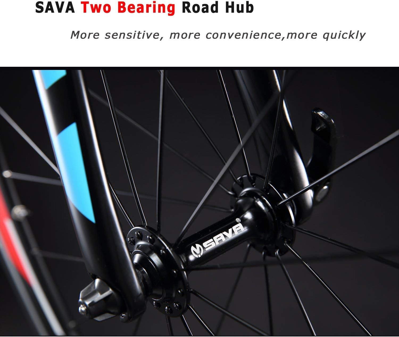 SAVANE Warwind5.0 - Bicicleta de Carretera 700 C con Cuadro de ...