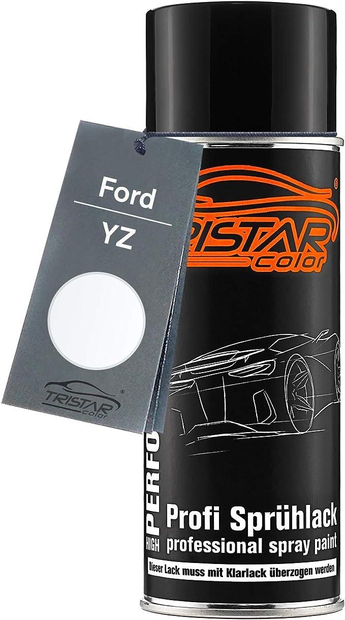 Tristarcolor Autolack Spraydose Für Ford Yz Oxford White Basislack Sprühdose 400ml Auto