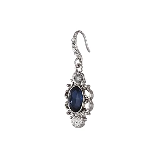 Downton Abbey Jeweled Heirlooms Carded Crystal Drop Earrings EZzAck86P