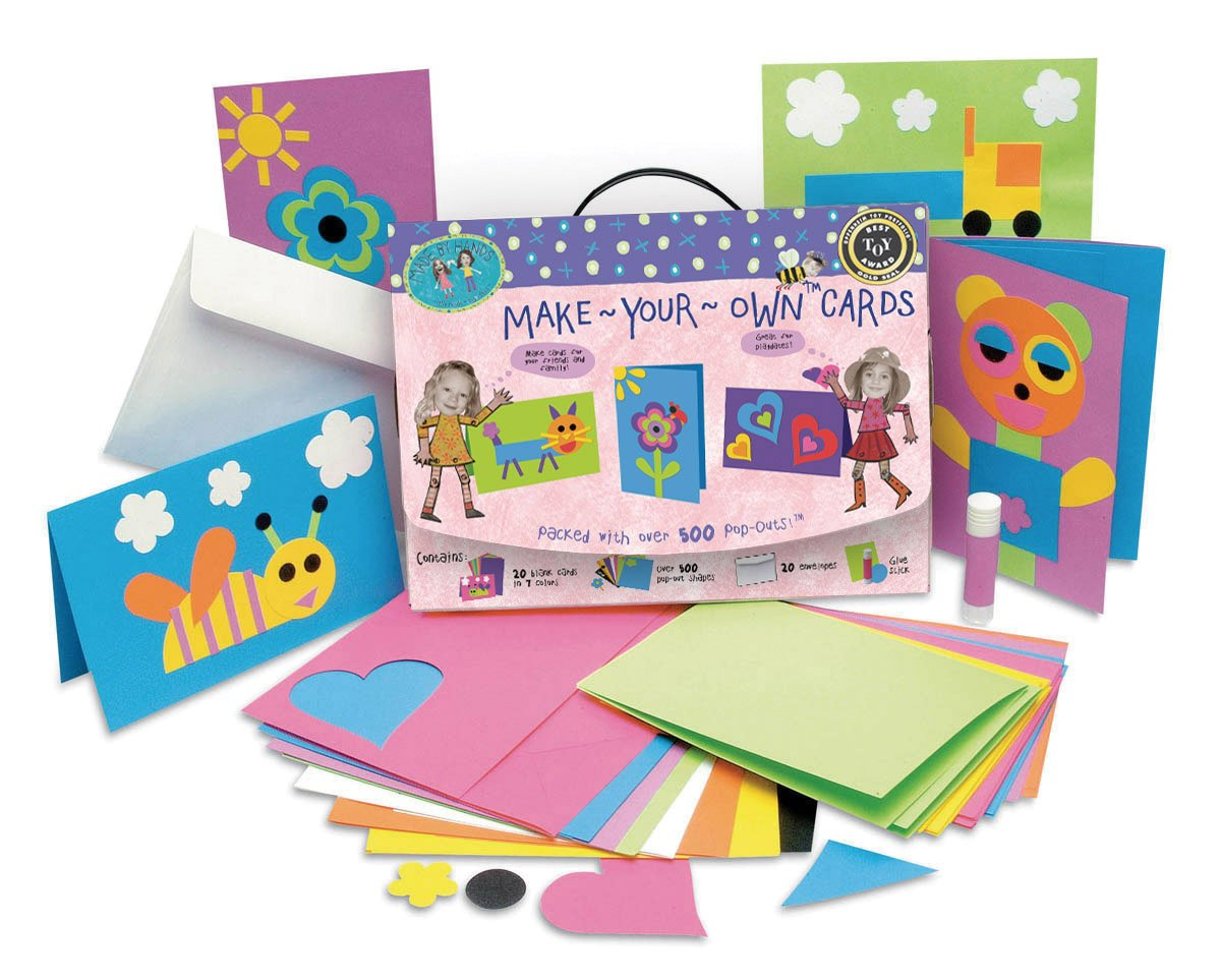 amazon com made by hands make your own cards toys games
