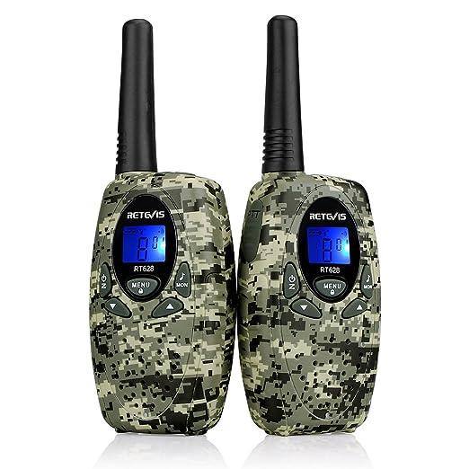 104 opinioni per Retevis RT-628 Bambini Walkie Talkie VOX 8 Canali PMR446 MHz Ricetrasmettitore