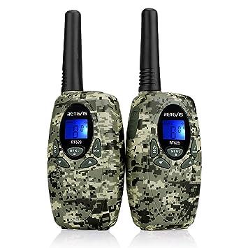 pmr camouflage walkie talkie pink