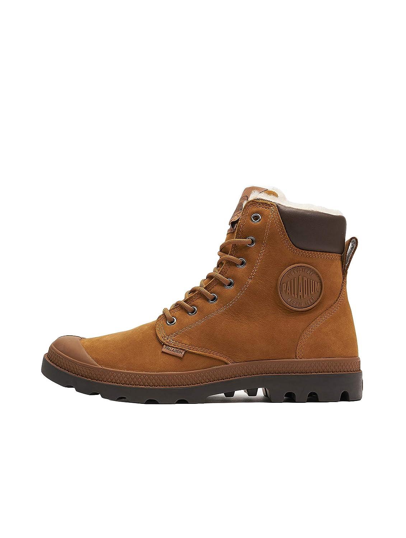 Braun (Mahogany Chocolate 728) Palladium Unisex-Erwachsene Pampa Sport Cuff WPS Klassische Stiefel