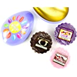 Yankee Candle Easter Egg Gift Set 3 Wax Melts in Metal Shaped Egg