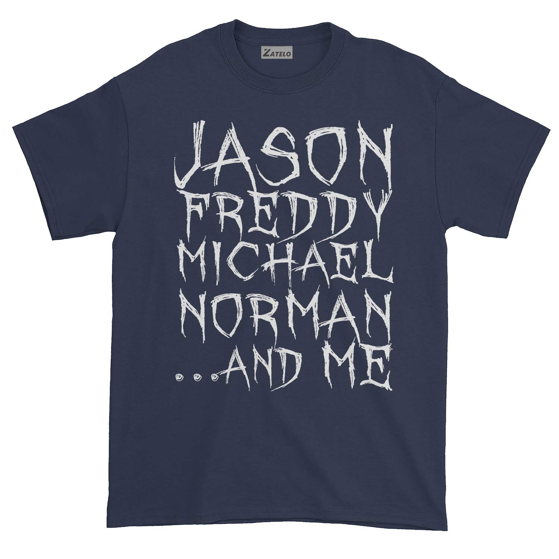 Jason Freddy Michael Norman and ME T-Shirt Horror Movie Shirt