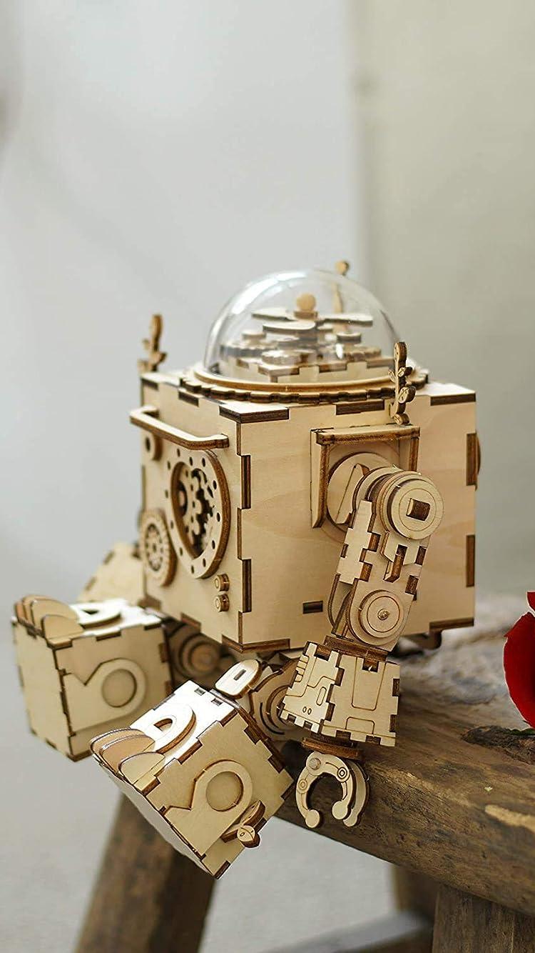 立体パズル ロボット iPhone SE/8/7/6s(750×1334)壁紙画像