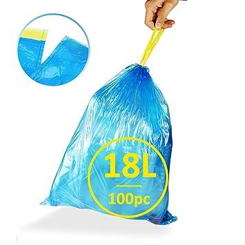 ackmond 25L handle-tie bolsa pequeña bolsa de basura bolsa ...