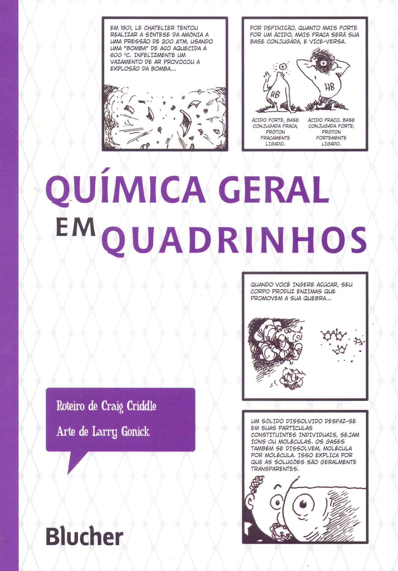 Quimica Geral em Quadrinhos: Gonick/Criddle: 9788521207764: Amazon ...