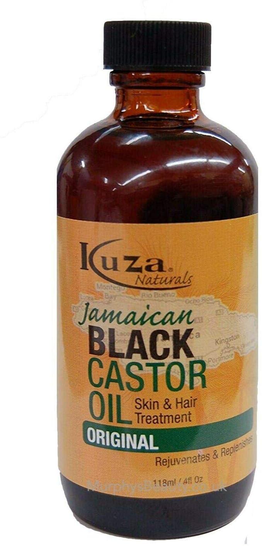 Kuza - Aceite de ricino negro jamaiquino para piel y tratamiento ...