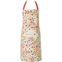 Cooksmart Cotton Twill Decorative Chef Cooking Baking Kitchen Apron with Pocket