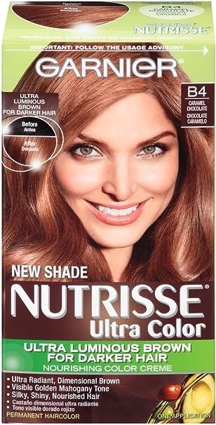 Garnier Nutrisse Ultra color color de pelo – B4 caramelo chocolate