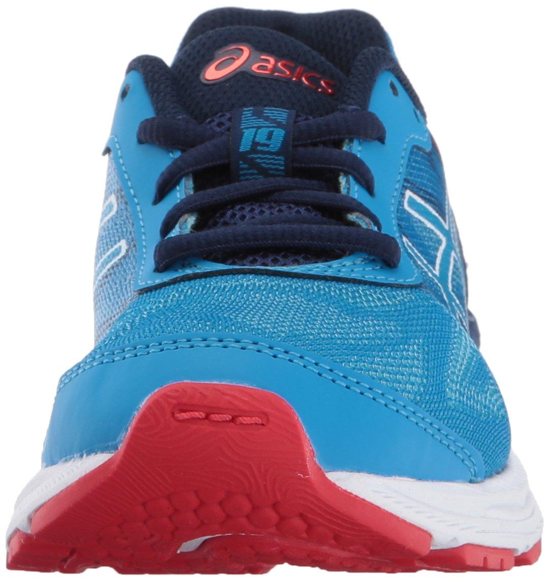 big sale 7ab68 7c8ae ASICS Kids Gel-Nimbus 19 GS Running Shoe Diva White/Indigo ...