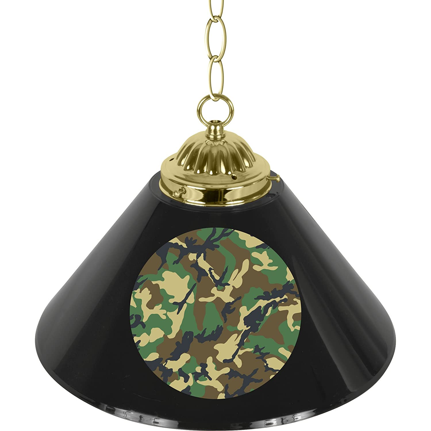 HUNT1200-CAMO Hunt Camo Single Shade Bar Lamp - 14 inch   B007IRIFGO