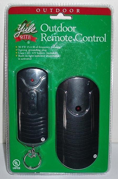Outdoor Outlet Remote Control Garage Door Remote Controls Amazon
