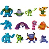 FunnyToy Monster Inc Cake Toppers – 12 pcs Cupcake Figurines for Party Décor – 1-4-inch-Tall Monsters Inc Party Supplies…