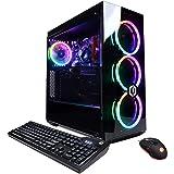 CYBERPOWERPC Gamer Xtreme Gaming PC, Intel i7-9700 3.0GHz, GeForce GTX 1650 Super 4GB, 16GB DDR4, 500GB NVMe SSD, 1TB HDD, Wi