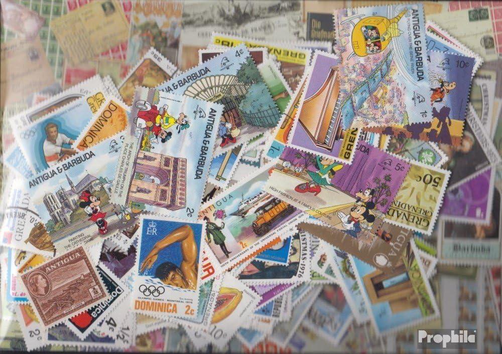 Francobolli per i collezionisti Prophila Collection Regno Unito 200 diversi Francobolli UK Colonie e Empire