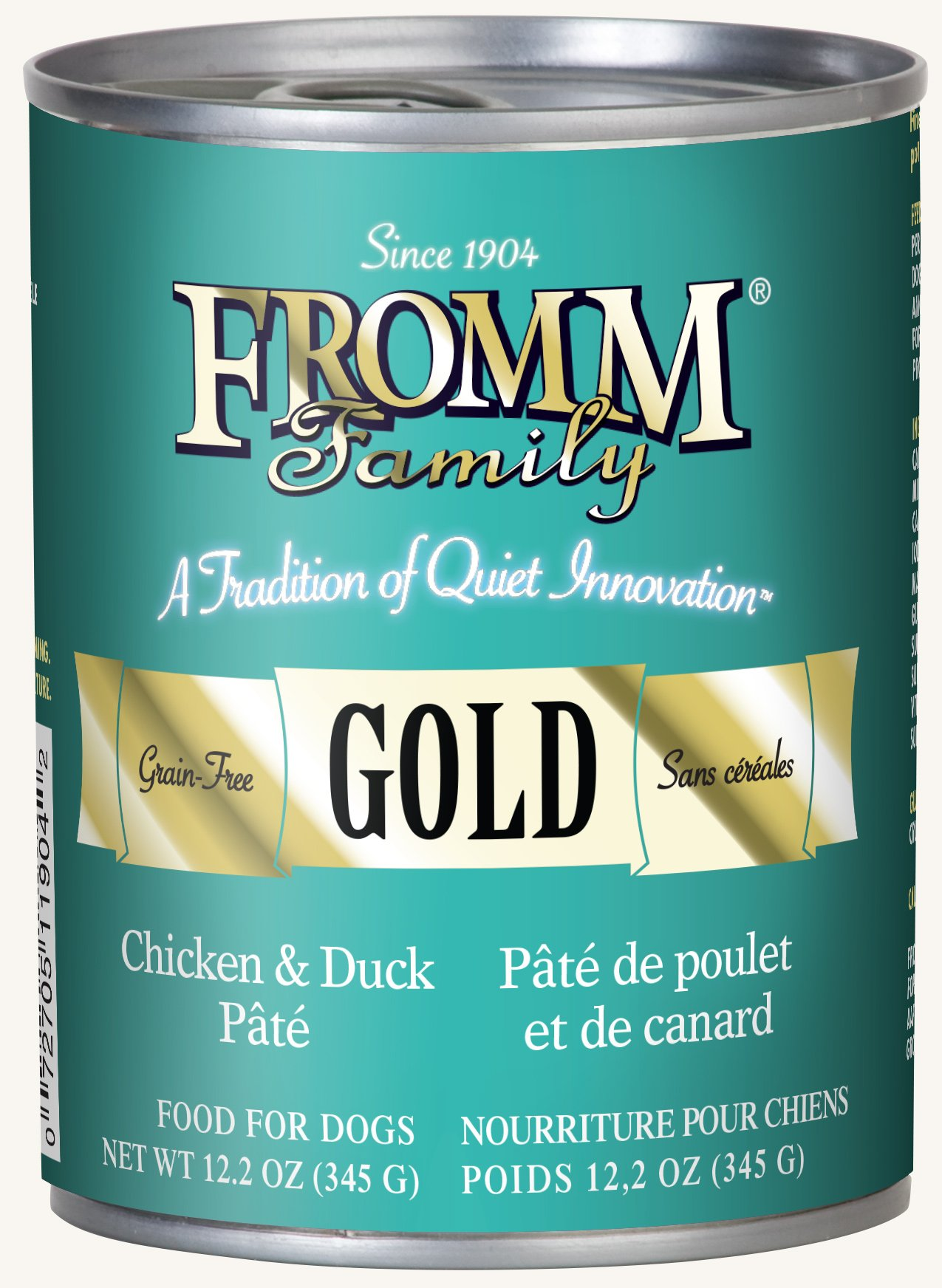 Fromm Gold Chicken & Duck Pâté 12.2oz / case of 12 by Fromm