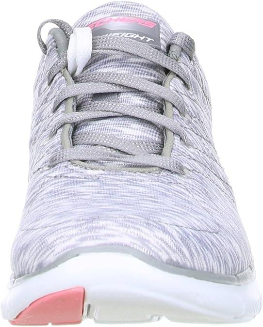 Skechers 12908GYW Flex Appeal 2.0 Reflection Damen Sneaker FXrKx