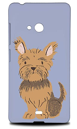 Amazon com: Yorkshire Terrier Dog 1 Hard Phone Case Cover