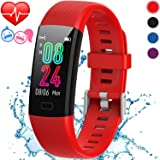 St. Lun Inspiratek Kids Fitness Tracker for Girls and Boys Age 5-16 (4 Colors)- Waterproof Fitness Watch for Kids with…