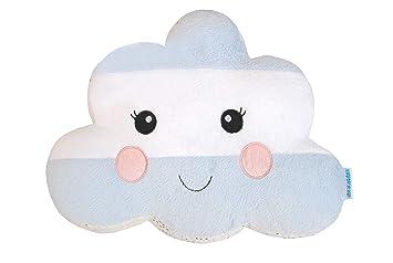Abracadabra Plush Soft Velbua Reversible Cloud Shaped Cushion for Kids