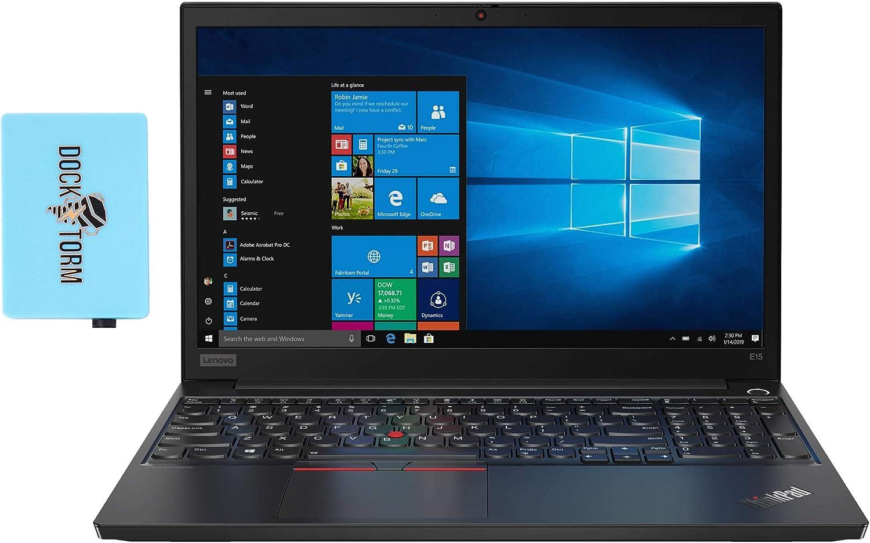 Lenovo ThinkPad E15 Gen 2 Home and Business Laptop (AMD Ryzen 7 4700U 8-Core, 16GB RAM, 256GB PCIe SSD, AMD Radeon Graphics, 15.6