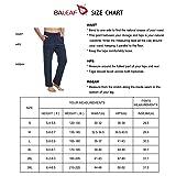 BALEAF Men's Active Yoga Sweatpants Open Bottom