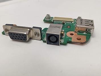 COMPRO PC Tarjeta DC Power Jack + Puerto USB para DELL ...